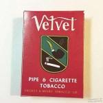 Velvet Pipe Tobacco WWII GI