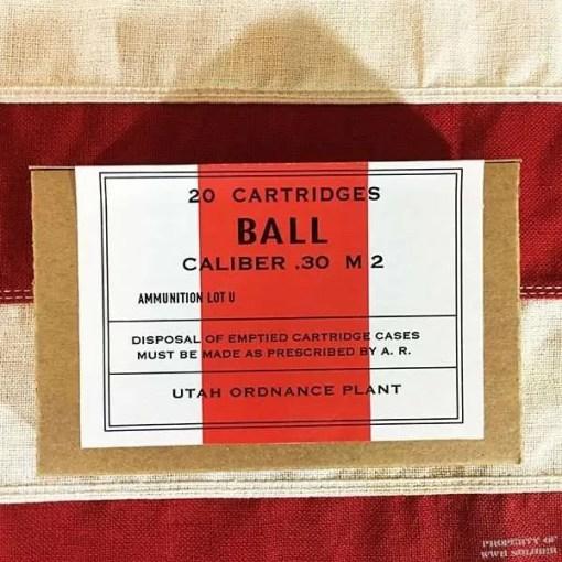 WWII Ball Cartridge Box, ww2 reproduction