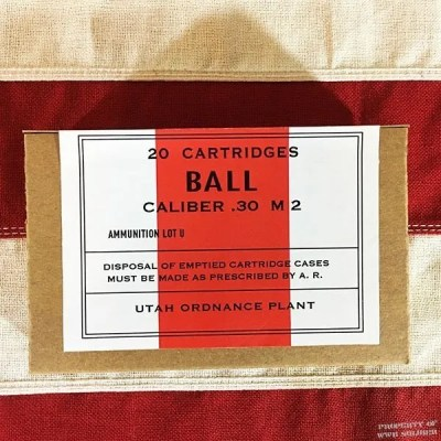 WWII Ball Cartridge Box, ww2 reproduction