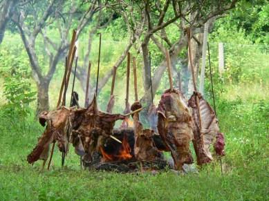 La ternera a la llanera es el asado de carne de res, plato típico de los llanos colombovenezolanos.