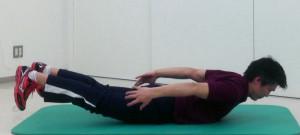 姿勢保持のための背筋トレーニング