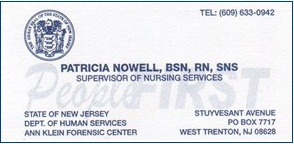 Nowell, Patricia - B.Card