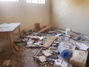 Read more about the article CWAO office trashed and burnt