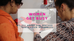 Women get busy at WWoW
