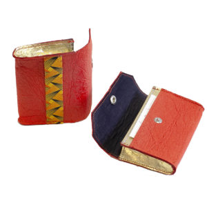 Phulan Purse Paprika & Gold