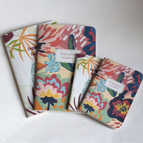 Colorful Banana Leaf Notebooks