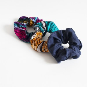 upcycled scrunchies are back in the wardrobes