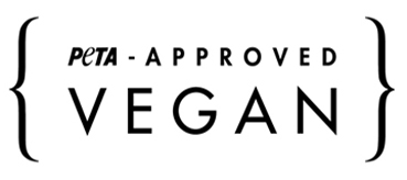 Logo de PeTA - Approved Vegan
