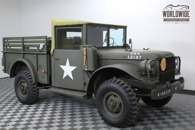 1952 M37 Dodge Power Wagon Car Interior Design