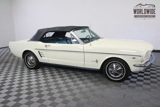 1966 Mustang Vin Location