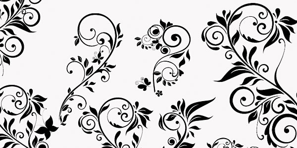 High quality Photoshop Floral Brushes