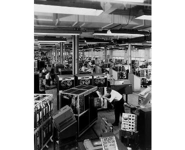 Imagen de varios IBM 1401