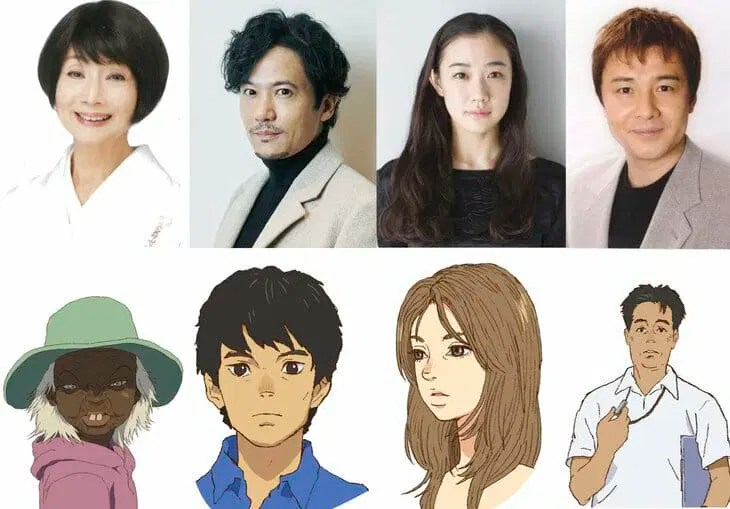 Children of the Sea Character Visual - Dede - Masaaki Yasumi - Kanako Yasumi - Sensei