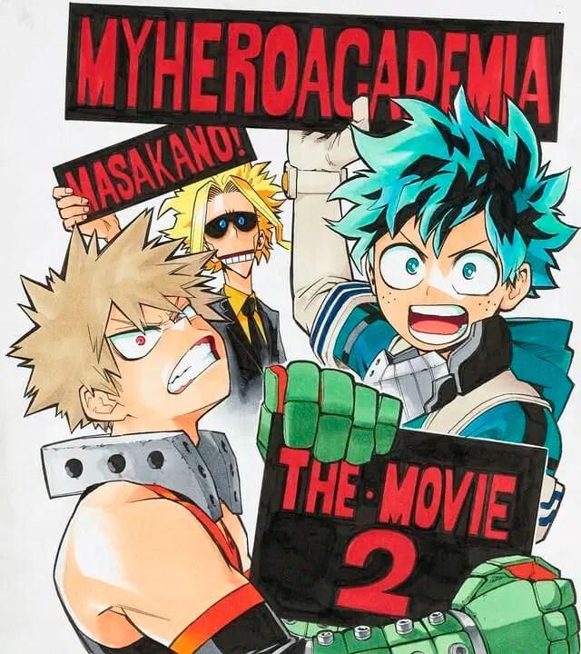 My Hero Academia The Movie 2 Teaser Visual
