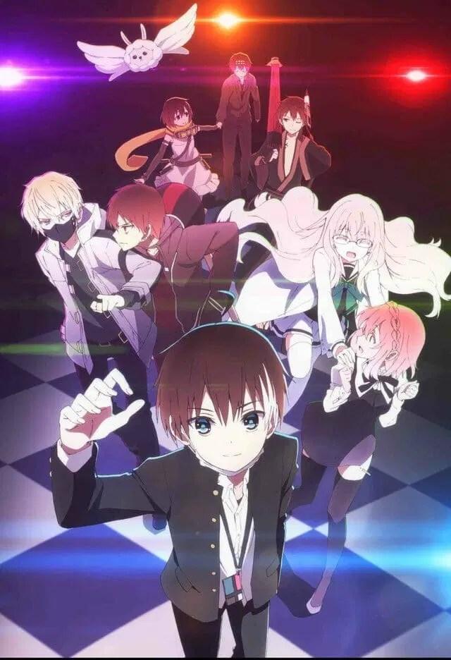 Naka no Hito Genome Jikkyouchuu Anime Visual