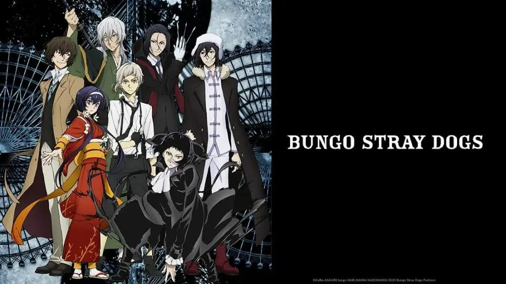 Bungo Stray Dogs Season 3 Horizontal Visual