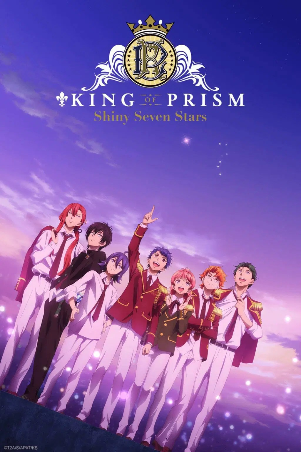 King of Prism Shiny Seven Stars Anime Visual