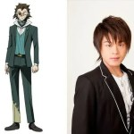 Tokunana Anime Character Visual - Mysterious Man