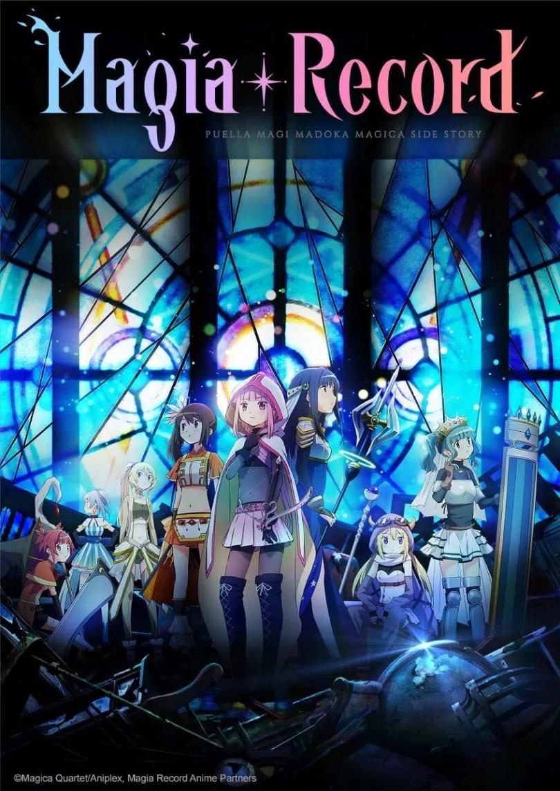 Magia Record Anime Visual