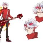 Show By Rock Mashumairesh Anime Character Visual - Joe