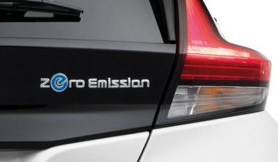 ไอคอนสัญลักษณ์ของรถยนต์พลังงานไฟฟ้า