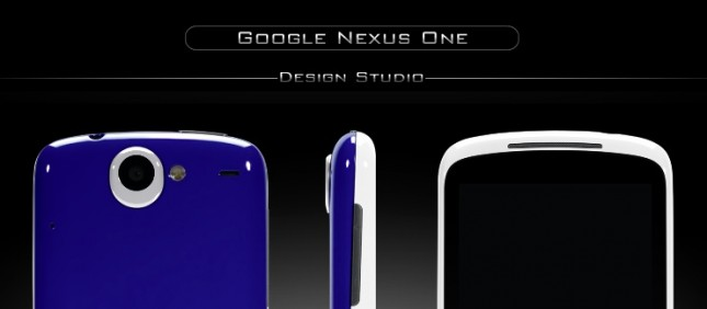 Colorware Nexus One BGR Blue