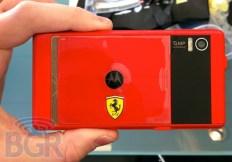 Motorola Ferrari Milestone