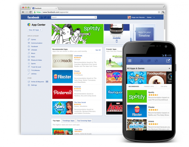 Facebook launching an 'App Center' in the coming weeks
