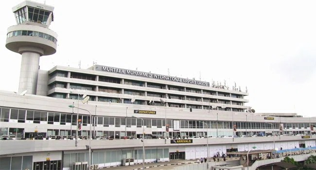 A file photo of the Murtala Muhammed International Airport.