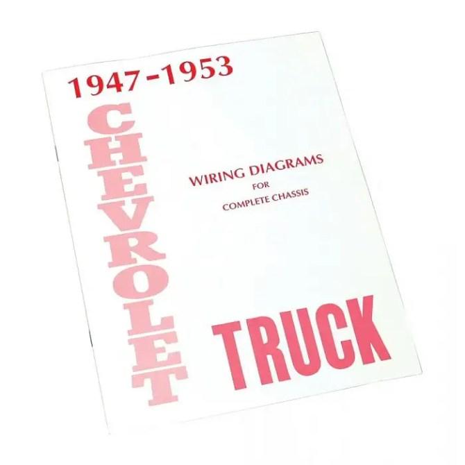 chevy truck wiring diagram 19471953