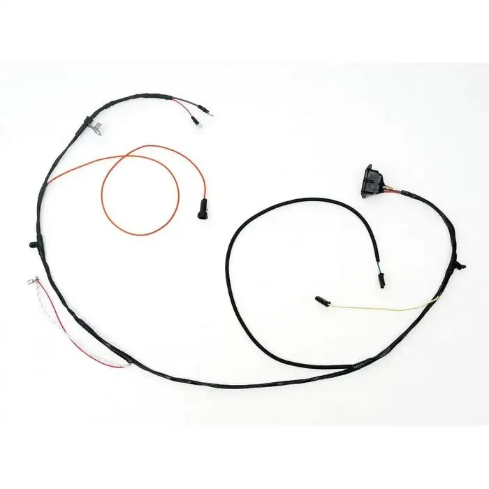 Full Size Chevy Engine & Starter Wiring Harness, With