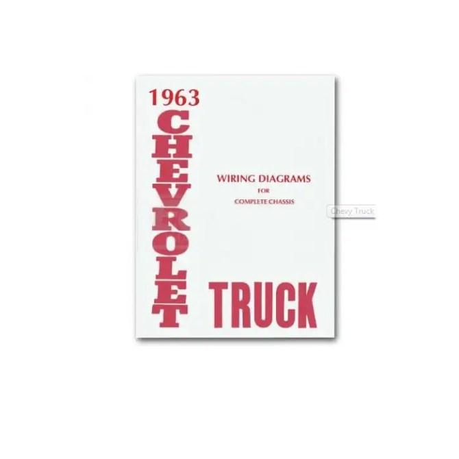 chevy truck wiring diagram 1963