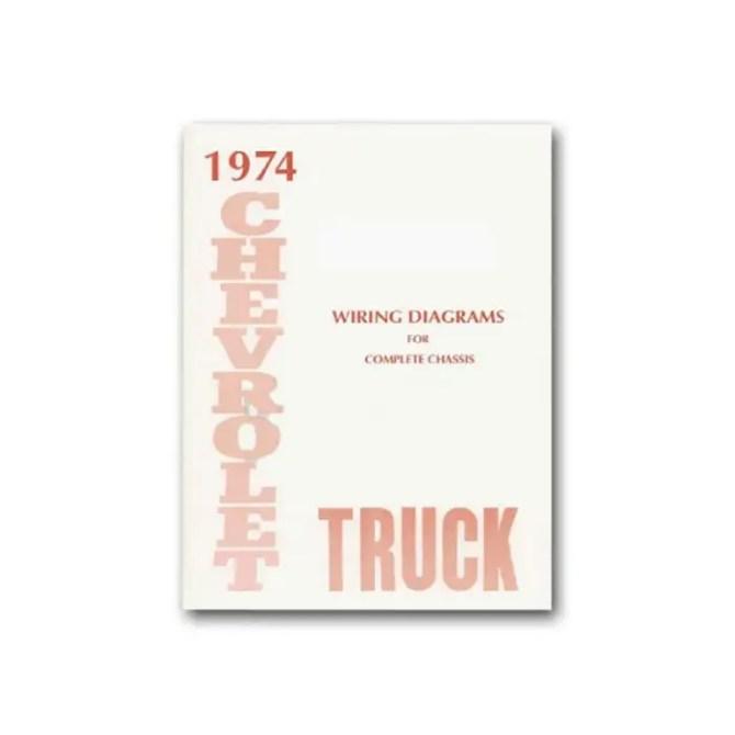 chevy truck wiring diagram 1974