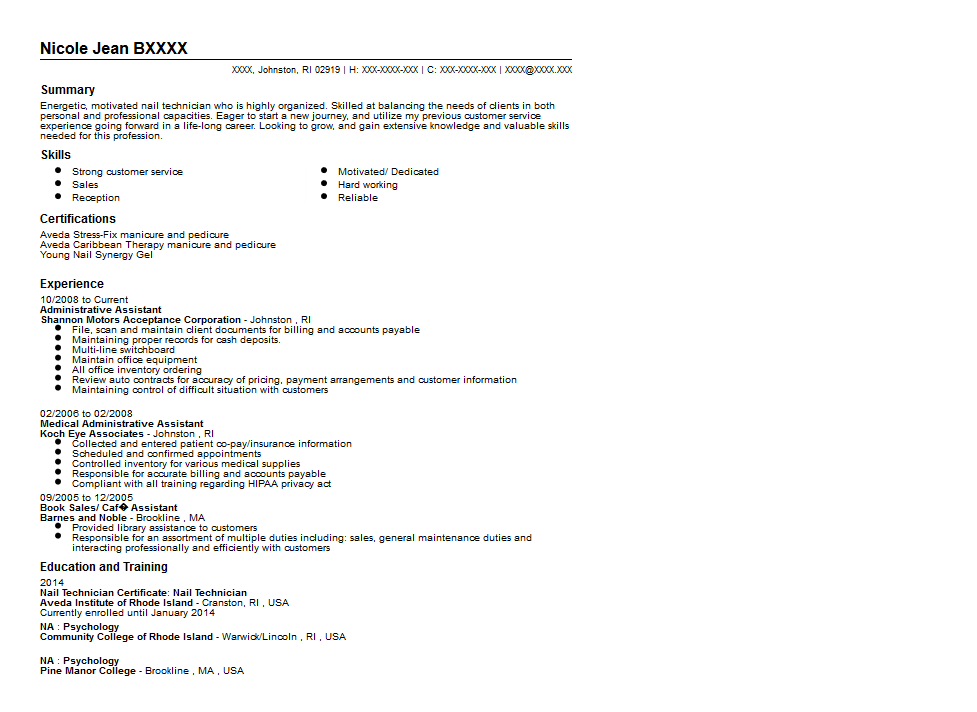 Sample Technician Resume Unforgettable Automotive Technician  Auto Technician Resume