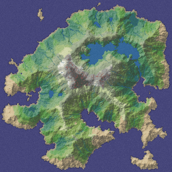 polygonal map generation for