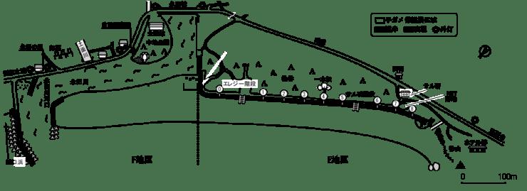 2019年前浜子ガメ保護柵設置場所
