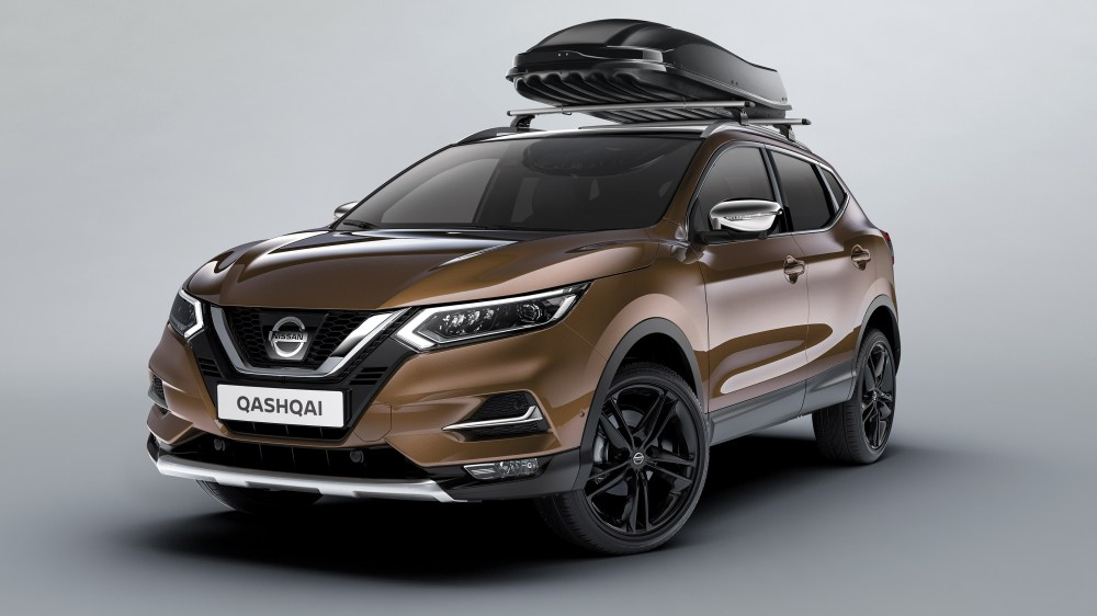 medium resolution of nissan qashqai avec coffre de toit