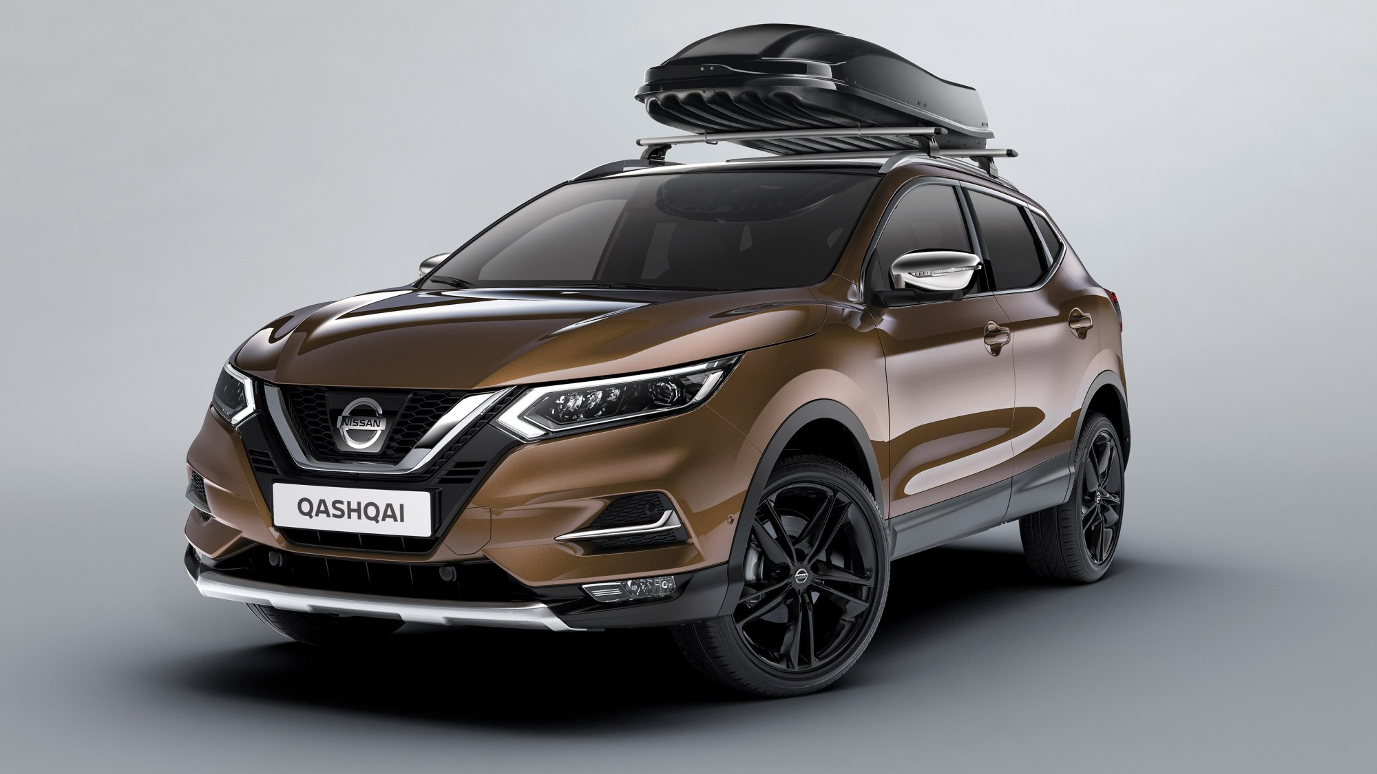 hight resolution of nissan qashqai avec coffre de toit