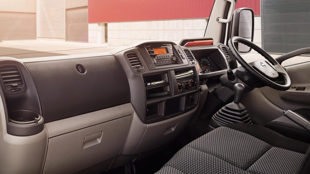 medium resolution of cabstar nissan nt400 chassis cab interior