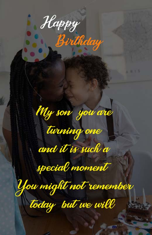 Birthday Message For Baby Boy From Mother : birthday, message, mother, Birthday, Wishes, Mother