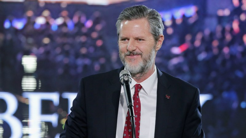 Jerry Falwell Jr. Takes Leave of Absence from Liberty