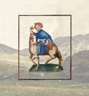 Pilgrim Journeying to the Holy Land