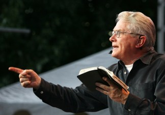 Luis Palau Says he Finds Assurance in the Word of God when Satan Tempts him to Question Eternal Life