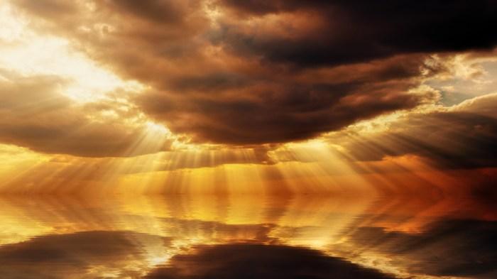 heaven shines but who