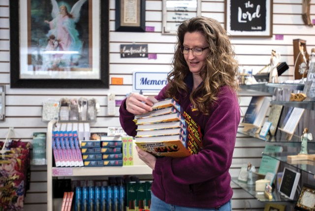 Heather Trost, Christian Bookstore Owner