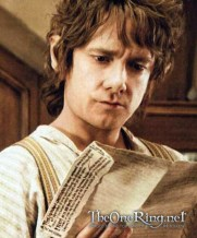 Martin Freeman as Bilbo Baggins in The Hobbit Movie