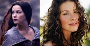Arwen and Tauriel