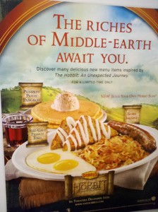 Denny's Hobbit menu
