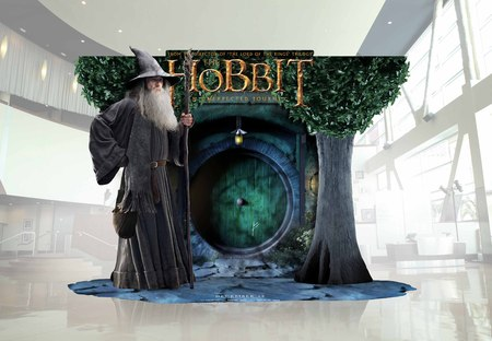 The Hobbit Standee for Theaters