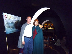Jack and Alex Machiela, of the Tolkien Society